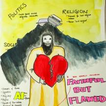 The church faithful but flawed