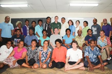 IBS training group photo