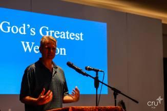 Guest speaker Gregg Hinzelman.