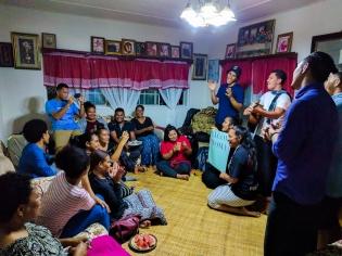 Tongan welcome.